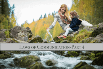 Laws of Communication - Part 4