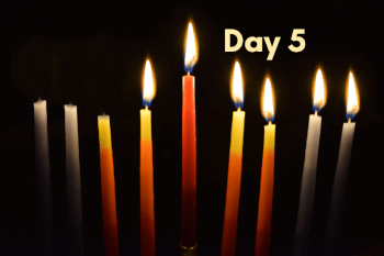 THE FIFTH NIGHT OF HANUKKAH: The Light of Yeshua