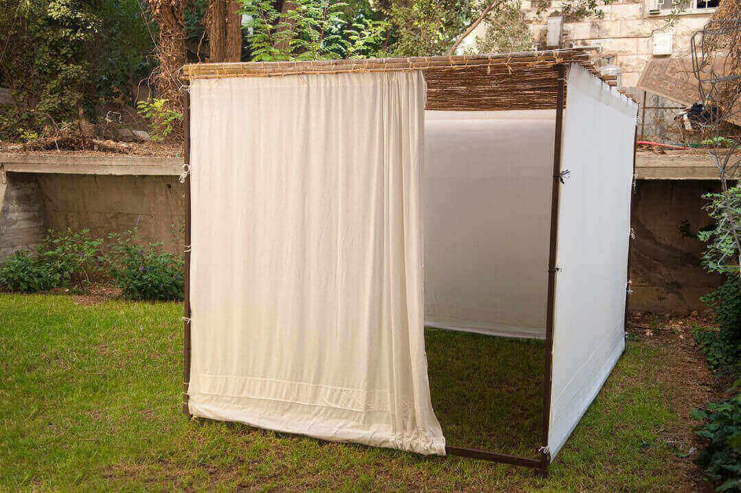No More Port-A-Potty Sukkah!