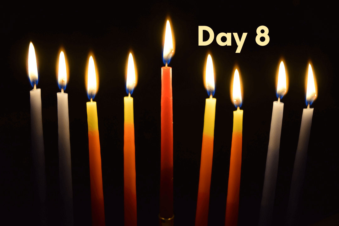THE EIGHTH NIGHT OF HANUKKAH: The Light in The Millenium